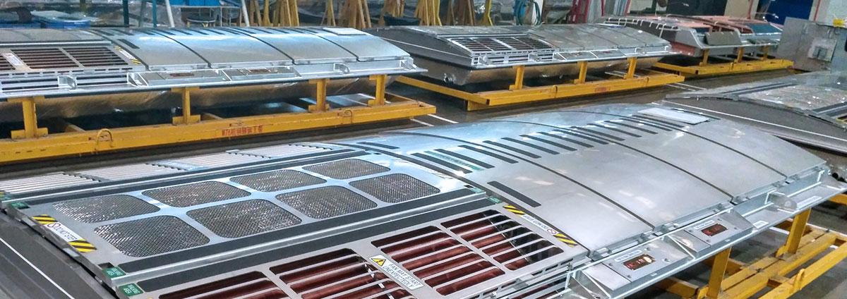 轨道交通焊接工装